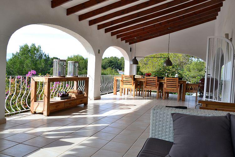 Slaapkamer Restylen : Droomvilla Moraira vakantie verhuur prachtig ...