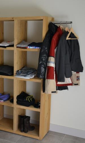 Garderobe in slaapkamers